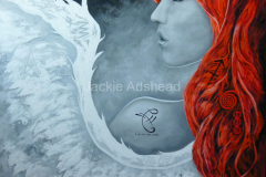 Angel-with-red-hair-and-pagan-symbols-