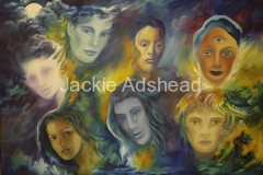 Goddesses of the divine feminine